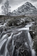 Mountain and Falls