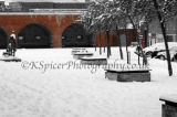 Old Portsmouth Arches In Snow