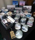 Snow globes, Handmade Clocks, Mugs