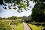 Chillingham Castle garden