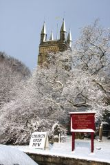 Helmsley in the snow