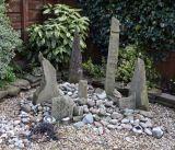 Monolith stone feature