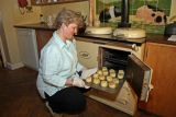 Taking scones out of AGA