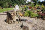 Use of rocks in a garden