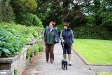Walking in a Walled Garden