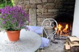 Warmth in the garden