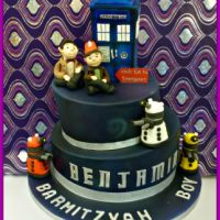 Dr Who Barmitzvah Cake