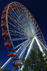 The ferris wheel on Navy Pier