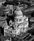 Aerial photo of St Paul's Cathedral