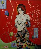 Eve - A homage to Gustav Klimt