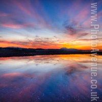 Edinburgh Sunset from Musselburgh