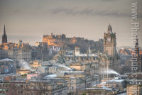 A cold Edinburgh morning