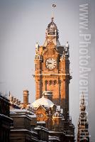 Balmoral hotel clock tower