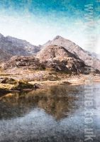 The Cuillins from Loch Coruisk