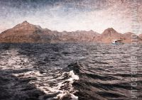 The Skye Cuillins from Loch Scavaig