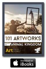 101 Artworks in the Animal Kingdom Cover with badge