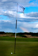 Almost, St. Andrews, Old Course, Scotland (color)