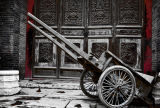 Chinese Wagon in Red and Black