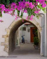 Archway, Crete, Greece