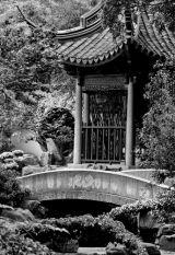 Pagoda Pond in B&W, Suzhou, China