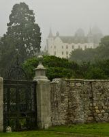Dunrobin Castle in the Fog