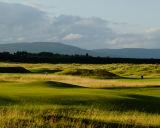 Royal Dornoch, with Ben Bhraggie Background, Scotland