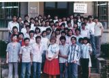 English Students, Shaanxi Teacher College, 1987