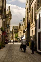 St. Andrews Street Scene, Scotland