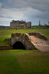Swilken Bridge, Old Course, St. Andrews, Scotland