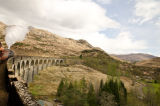 Jacobite over Glenfinan Viaduct, Landscape