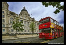 Port of Liverpool Building & tourist bus