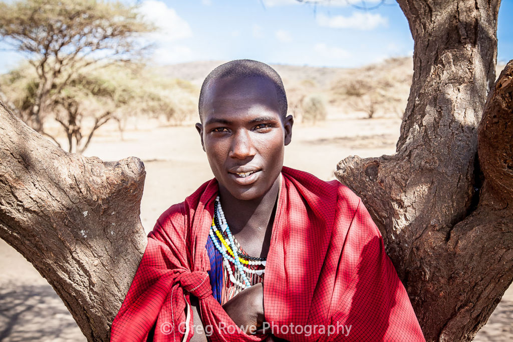 The Masai tribe of Africa for print order