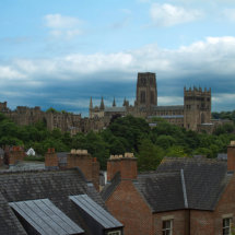 Rooftop view of Durham Cathedral