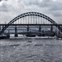 Tyne Bridges and River Tyne