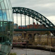 Tyne Bridge from the Sage