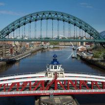Blue Sky and Bridges