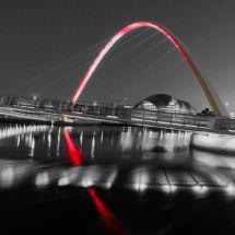 Millenium Bridge (Black and White)